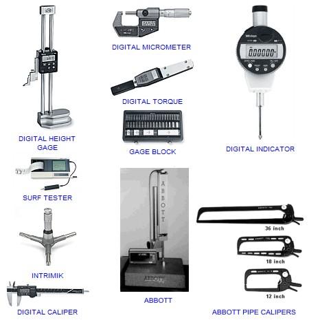 Mitutoyo Precision Measuring Tools